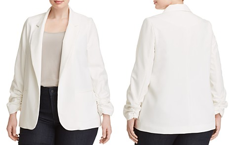 Love Ady Plus Cinched-Sleeve Open Blazer - Bloomingdale's_2