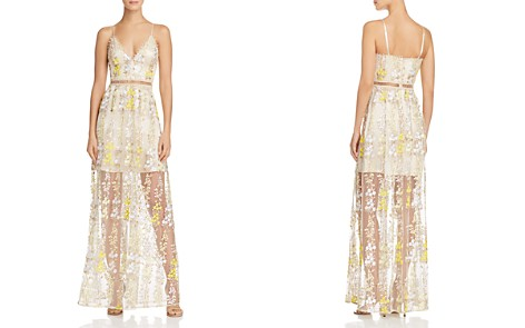 AQUA Beaded Embroidered Maxi Dress - 100% Exclusive - Bloomingdale's_2