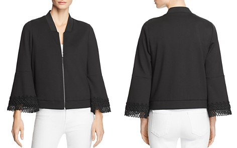Le Gali Patricia Bell Sleeve Bomber Jacket - 100% Exclusive - Bloomingdale's_2