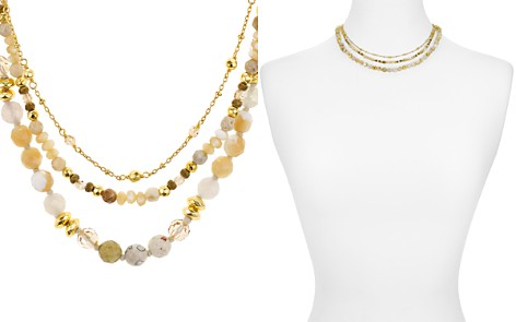 "Chan Luu Faceted-Bead Layered Necklace, 16"" - Bloomingdale's_2"