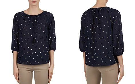 Gerard Darel Cleo Embroidered Heart Top - Bloomingdale's_2