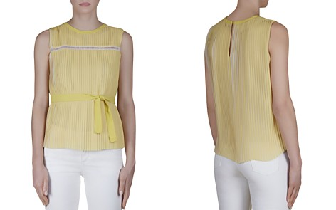 Gerard Darel Capucine Pleated Top - Bloomingdale's_2