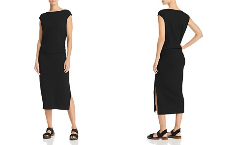 Theory Ruched Midi Dress - Bloomingdale's_2