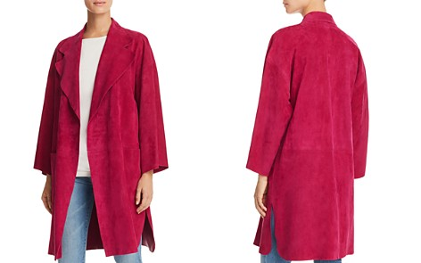 Theory Suede Kimono Coat - Bloomingdale's_2