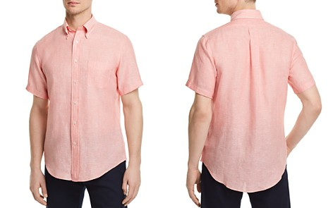 Brooks Brothers Irish Linen Regular Fit Button-Down Shirt - Bloomingdale's_2
