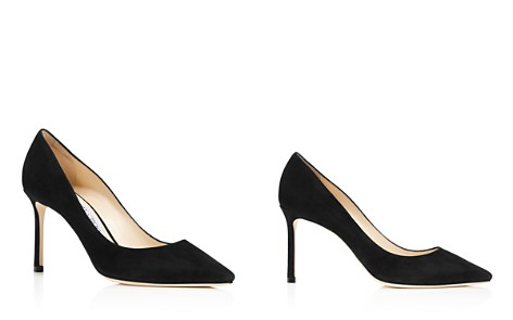 Jimmy Choo Women's Romy 85 Suede High-Heel Pointed Toe Pumps - Bloomingdale's_2
