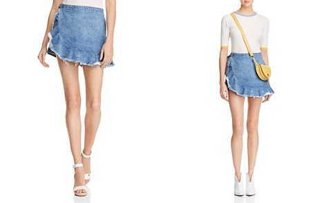 DL1961 Haley Denim Skort in Big Sur - Bloomingdale's_2
