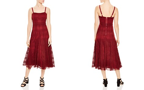 Sandro Mado Lace Midi Dress - Bloomingdale's_2