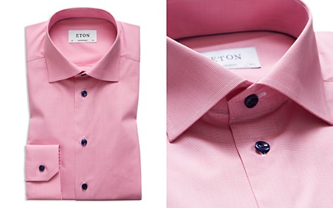 Eton Solid Regular Fit Dress Shirt - Bloomingdale's_2