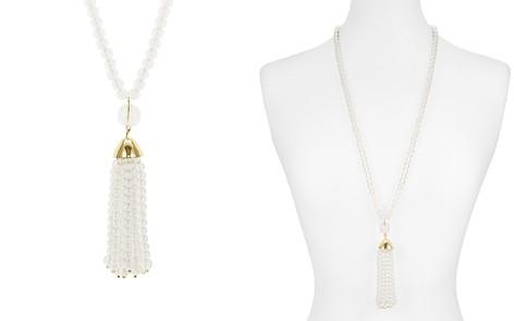 "AQUA Lucite Tassle Pendant Necklace, 32"" - 100% Exclusive - Bloomingdale's_2"