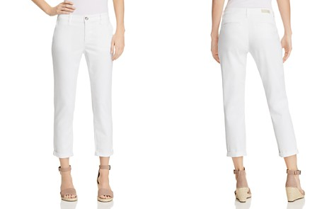 AG Caden Straight Jeans in White - Bloomingdale's_2