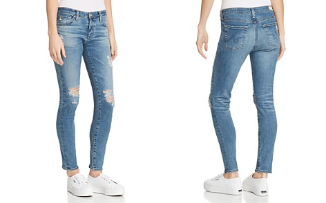 AG Ankle Legging Jeans in 13 Years Pacifica Destructed - Bloomingdale's_2