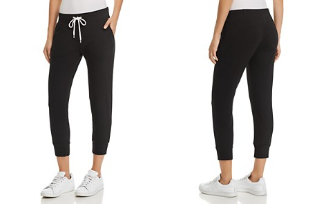 Monrow Sporty Cropped Sweatpants - Bloomingdale's_2