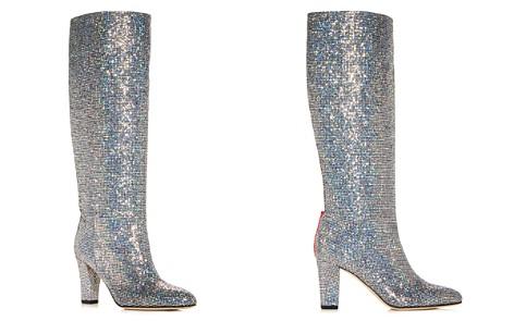 SJP by Sarah Jessica Parker Women's Studio Glitter High-Heel Boots - Bloomingdale's_2