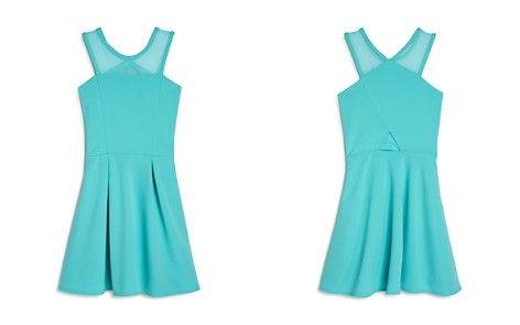 Sally Miller Girls' Carly Pleated Cutout Dress - Big Kid - Bloomingdale's_2
