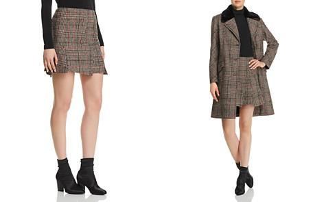 McQ Alexander McQueen Plaid Mini Skirt - Bloomingdale's_2