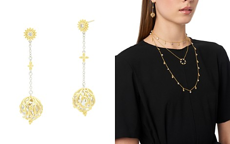 Freida Rothman Fleur Bloom Linear Ball Drop Earrings - Bloomingdale's_2