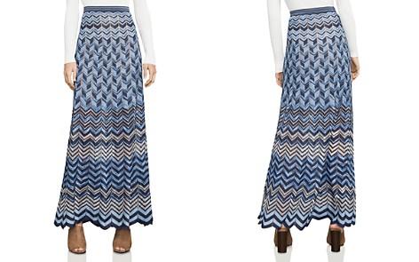 BCBGMAXAZRIA Vida Chevron Maxi Skirt - Bloomingdale's_2