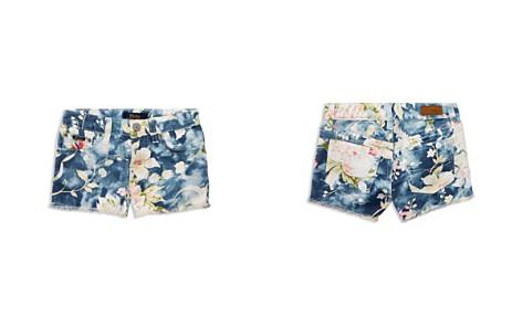 Polo Ralph Lauren Girls' Denim Floral Shorts - Little Kid - Bloomingdale's_2