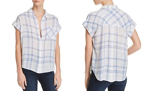 Rails Mia Button-Back Plaid Shirt - Bloomingdale's_2