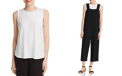 Eileen Fisher Sleeveless High/Low Top - Bloomingdale's_2