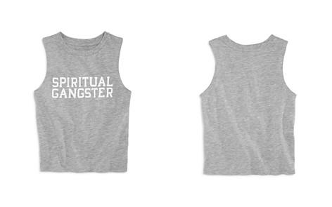 Spiritual Gangster Girls' Logo Varsity Muscle Tank - Big Kid, Little Kid - Bloomingdale's_2