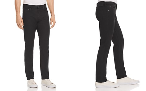 S.M.N Studio Hunter Standard Slim Fit Jeans in Black - Bloomingdale's_2