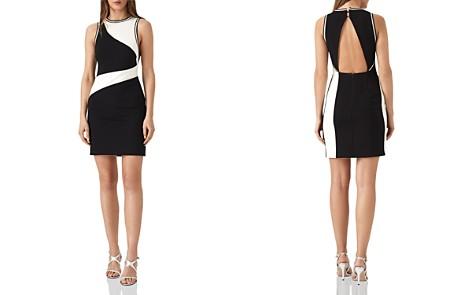 REISS Willa Color-Block Mini Dress - Bloomingdale's_2