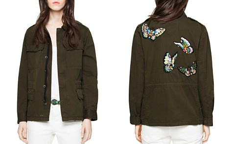 Zadig & Voltaire Kayak Embroidered Parka - Bloomingdale's_2