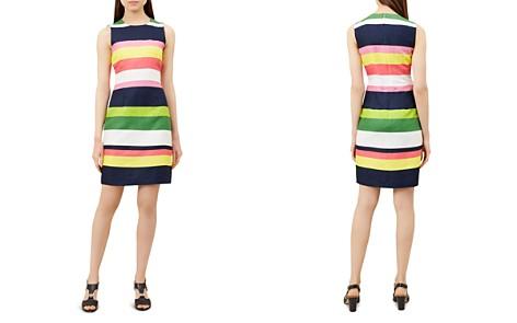 HOBBS LONDON Ives Striped Linen Shift Dress - Bloomingdale's_2