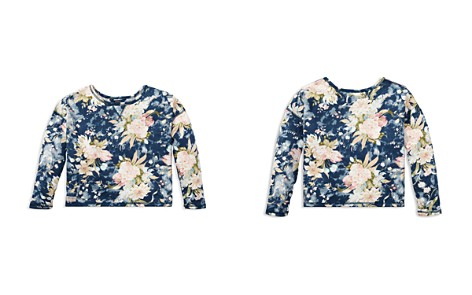 Polo Ralph Lauren Girls' French Terry Floral Sweatshirt - Big Kid - Bloomingdale's_2
