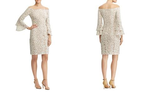 Lauren Ralph Lauren Off-the-Shoulder Lace Dress - Bloomingdale's_2