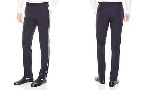 Sandro Notch Cocktail Slim Fit Dress Pants - Bloomingdale's_2