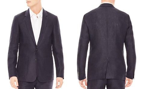 Sandro Notch Linen Slim Fit Sport Coat - Bloomingdale's_2