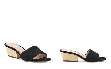 Botkier Women's Carlie Suede Mid Heel Slide Sandals - Bloomingdale's_2