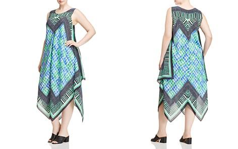 NIC+ZOE Plus Deja Vu Handkerchief Dress - Bloomingdale's_2