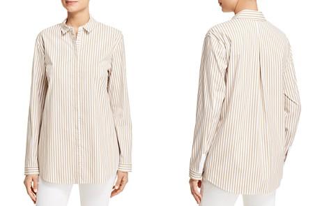 Lafayette 148 New York Sabira Striped Shirt - Bloomingdale's_2