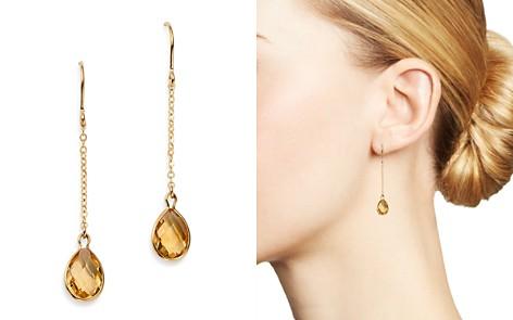 Bloomingdale's Citrine Teardrop Earrings in 14K Yellow Gold - 100% Exclusive _2