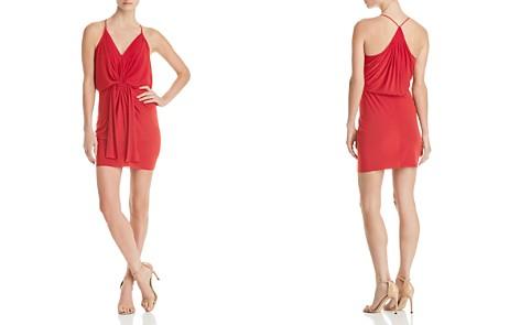 MISA Los Angeles Domino Draped Mini Dress - Bloomingdale's_2