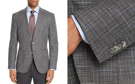 BOSS Janson Regular Fit Textured Check Sport Coat - Bloomingdale's_2