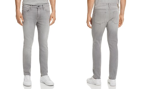 PAIGE Lennox Skinny Fit Jeans in Mannor - Bloomingdale's_2