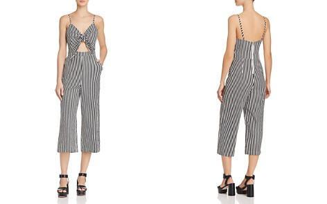 Alpha and Omega Striped Cutout Jumpsuit - Bloomingdale's_2