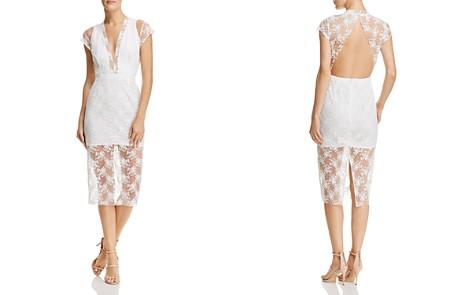 SAU LEE Emery Embroidered Illusion Dress - Bloomingdale's_2