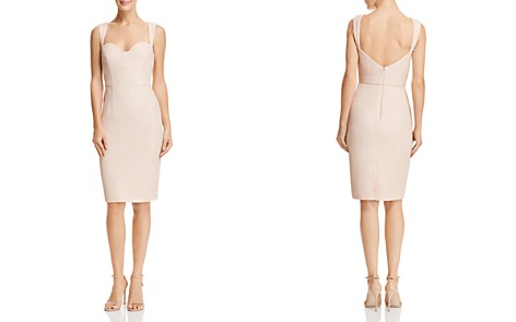 Aidan Mattox Textured Knit Dress - 100% Exclusive - Bloomingdale's_2