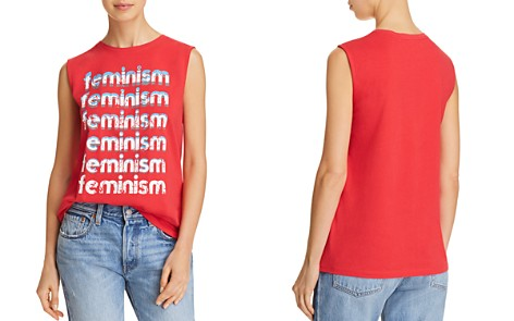 Rebecca Minkoff Feminism Graphic Muscle Tee - Bloomingdale's_2