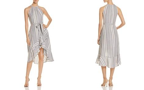 T Tahari Vitala Striped Ruffle Dress - Bloomingdale's_2