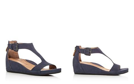 Gentle Souls Women's Gisele Nubuck Leather Platform Wedge Sandals - Bloomingdale's_2