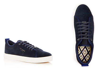 Ted Baker Men's Kaliix Perforated Suede Lace Up Sneakers - Bloomingdale's_2