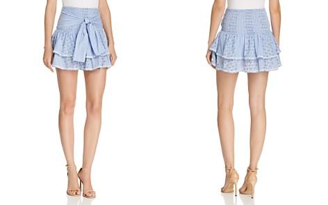 Saylor Printed Mini Skirt - Bloomingdale's_2