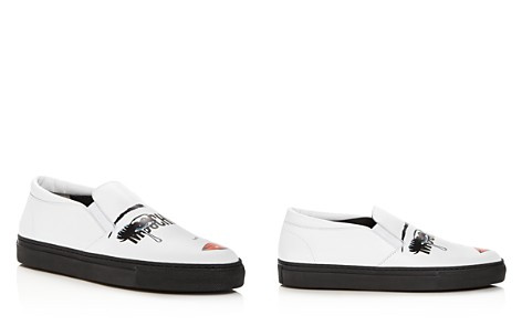 Moschino Women's Leather Slip-On Sneakers - Bloomingdale's_2